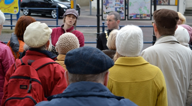 The Mayor joined FABB on one of its Heritage Walks
