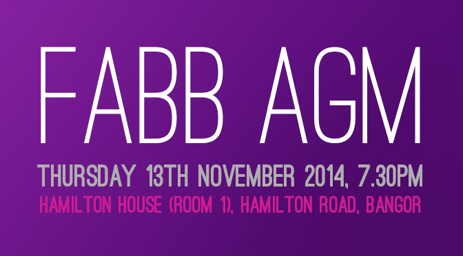 FABB AGM – THU 13 NOV @ 7.30PM